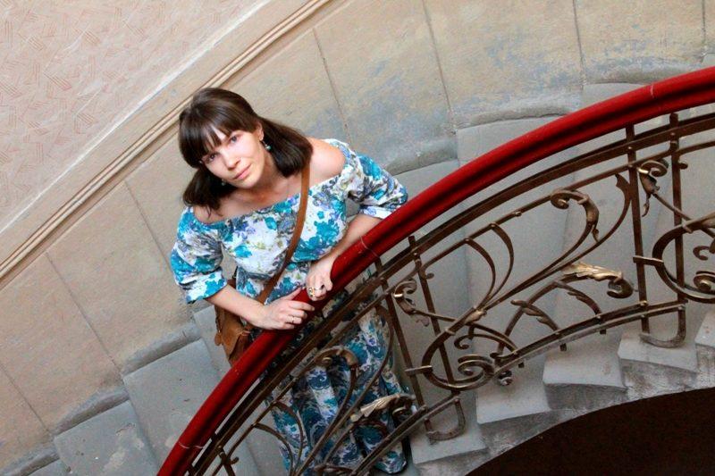 Франківчанка Марія Козакевич: «Для нас старі двері, це не просто фізичний вхід у будинок, це –своєрідний портал у минуле, у історію» (фото)