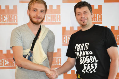 """Костянтин Почтар (Postman) & лідер гурту """"5 Vymir"""" (АУДІО)"""