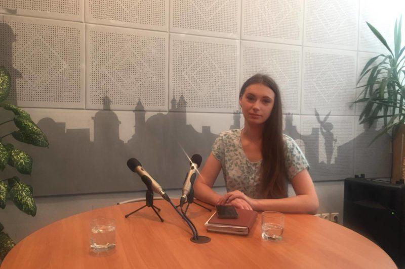 """Директор проекту """"Місто професій"""" Альона Поліщук (АУДІО)"""