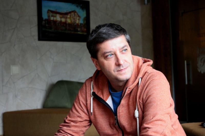 Пьотр Андрусечко: «Найсумніше усвідомлювати те, що ти можеш виїхати із зони АТО, а вони – ні»