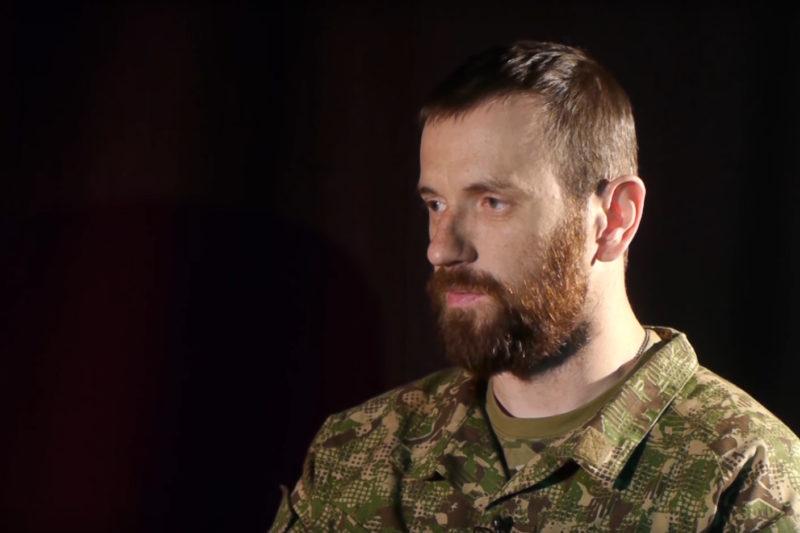 "Богдан Кухарук, командир роти ""Гарпуна"" (ВІДЕО)"