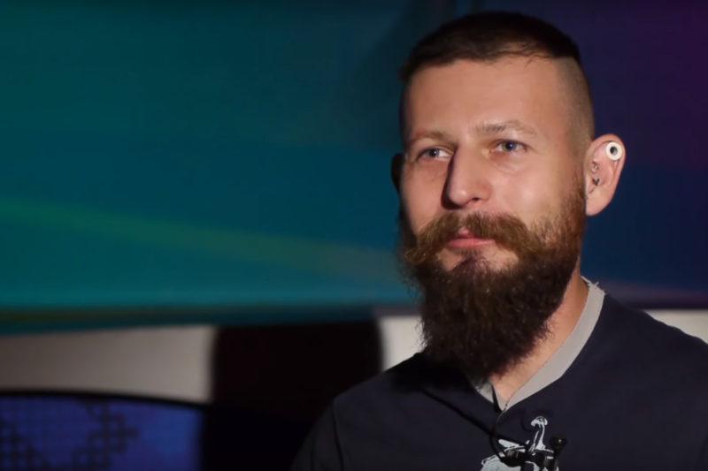 """Андрій """"Ендрю"""" Кашуба, боді модифікатор (ВІДЕО)"""