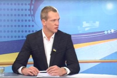 Гість студії - депутат міськради Віталій Мерінов (ВІДЕО)