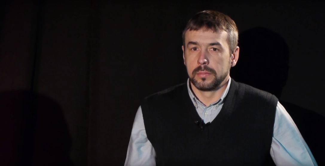 """""""СЕКТОР"""". Руслан Ганущак, доброволець полку """"Азов"""", військовий репортер (ВІДЕО)"""