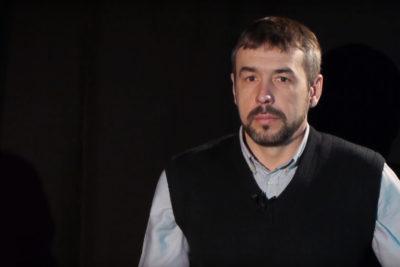 """Руслан Ганущак, доброволець полку """"Азов"""", військовий репортер (ВІДЕО)"""