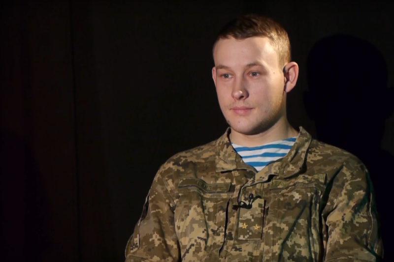 Володимир Небір, офіцер ВДВ (ВІДЕО)
