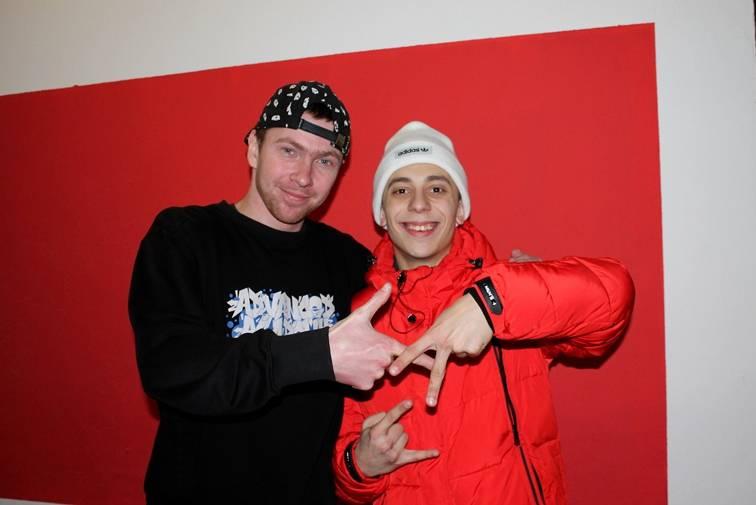 Василь Рожко (ліворуч) - тренер та Влад Курочка - танцівник. Фото: vezha.org
