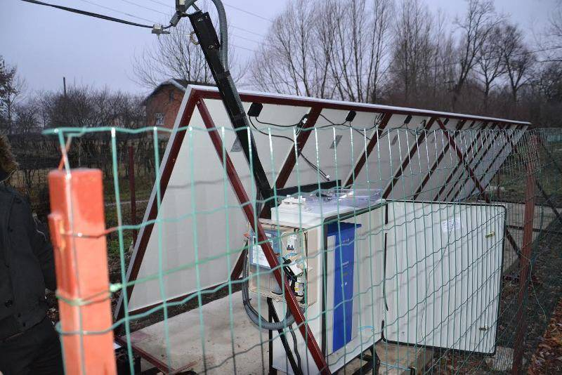 Еко Енергія Центр. Село Вільшаниця