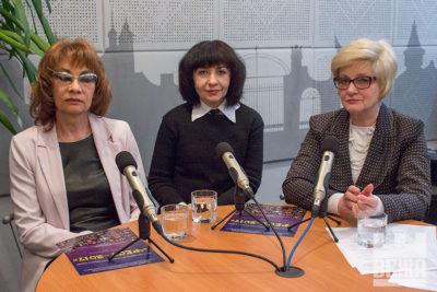 Тетяна Грибович,  Олена Чижонок та Леоніла Жодік (АУДІО)