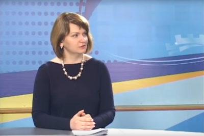 Гість студії - секретар міськради Оксана Савчук (ВІДЕО)