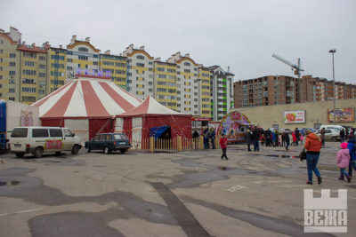 За кулісами цирку (ФОТО)