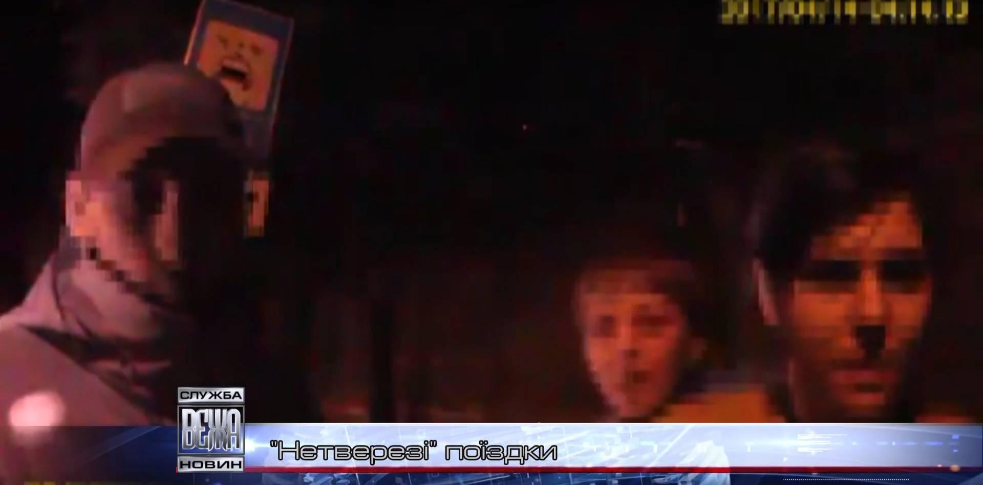 Патрульна поліція спіймала на автошляху нетверезих водіїв (ВІДЕО)