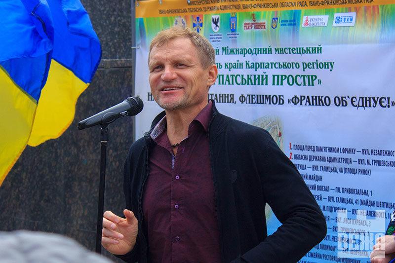 Олег Скрипка: «Український простір сьогодні знаходиться за колючим дротом. Ми потребуємо свободи українського слова»