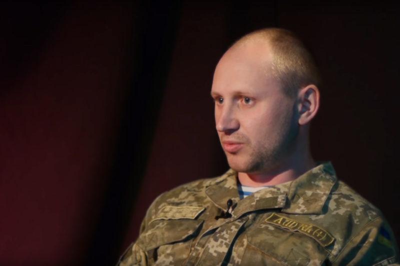Боєць 81 аеромобільної бригади Дмитро Ковальський (ВІДЕО)