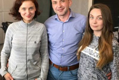 Голова правління Art Media Holding - Civitas LEOPOLIS Роман Білявський та директор ЦСМ Клицюк (АУДІО)