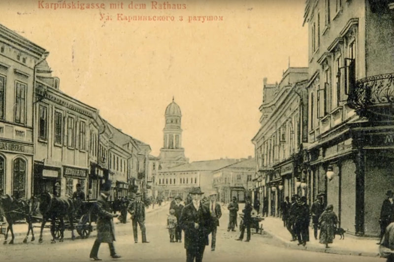 Про перші листівки з видами Станиславова (ВІДЕО)