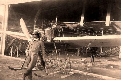 Перший авіаполіт над Станиславовом (ВІДЕО)