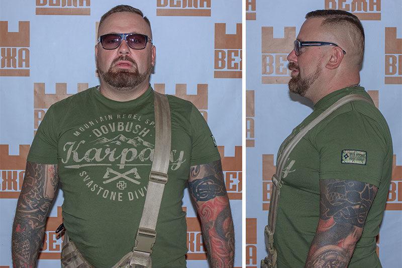 """Арсеній Білодуб, лідер гурту """"СОКИРА ПЕРУНА"""" (АУДІО)"""