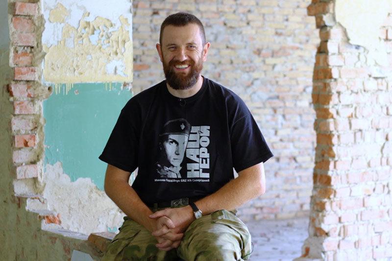 """Богдан """"Кук"""" Кухарук, 37 років, до війни займався професійно туризмом (м. Львів) (ВІДЕО)"""
