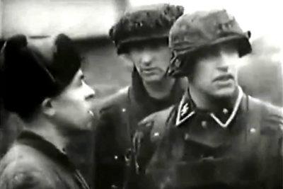 Німецькі та угорські війська під Станиславовом - 1944 р. (ВІДЕО)