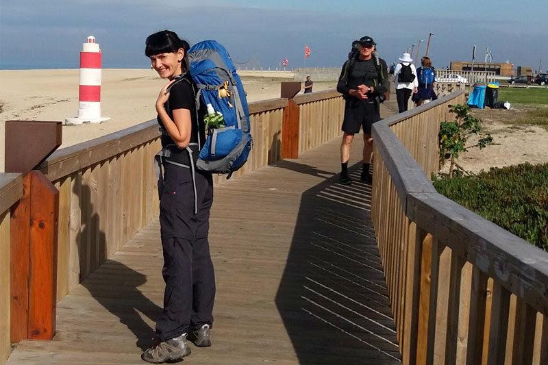280 км. пішки за 11 днів подолала Ірина Станіславська (АУДІО+ВІДЕО)