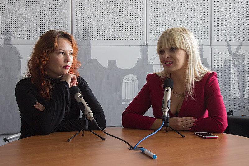 Оксана Мельник, співорганізатор фестивалю. Ірина Червінська, письменниця-фантаст. (АУДІО)