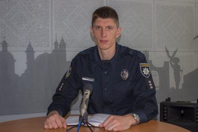 Дмитро Міхалець, керівник патрульної поліції Івано-Франківська (АУДІО)