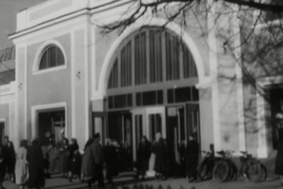 Відкриття універмагу в Пасажі та конкурс з оформлення балконів (1959 р.) (ВІДЕО