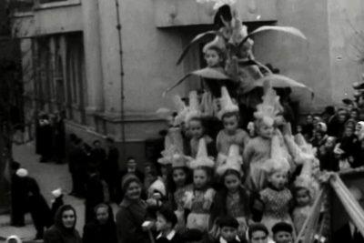 """Жовтневий мітинг (1962), відкриття кінотеатру """"Космос"""" та свято весни (1963) (ВІДЕО)"""