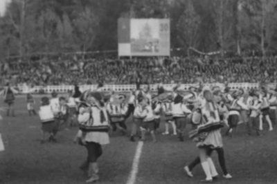 Урочистості на стадіоні та франківське озеро (1969) (ВІДЕО)
