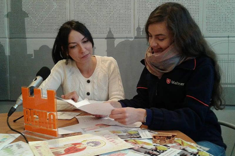 Анастасія Костюк, представник Мальтійської служби допомоги (АУДІО)