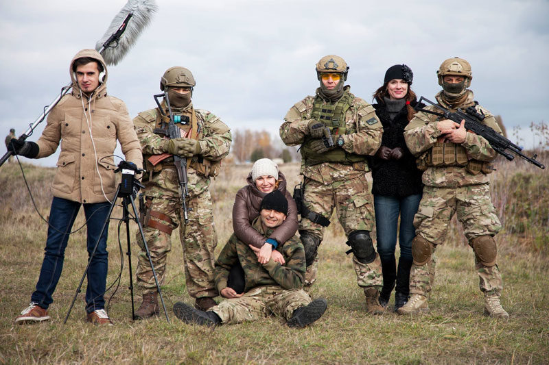 Творці всеукраїнського проекту-кіноальманаху «Слава Україні! — Героям слава!» (АУДІО)