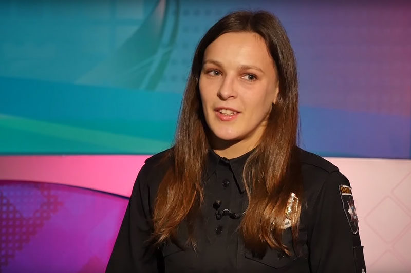 Людмила Пилипчак, поліцейська, тайбоксерка (ВІДЕО)