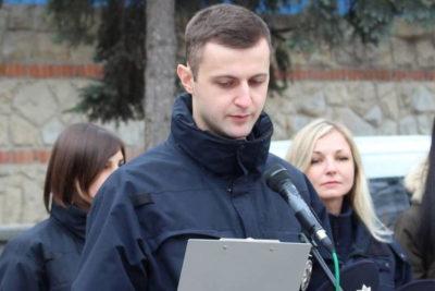 Богдан Настич, інспектор патрульної поліції України (АУДІО)