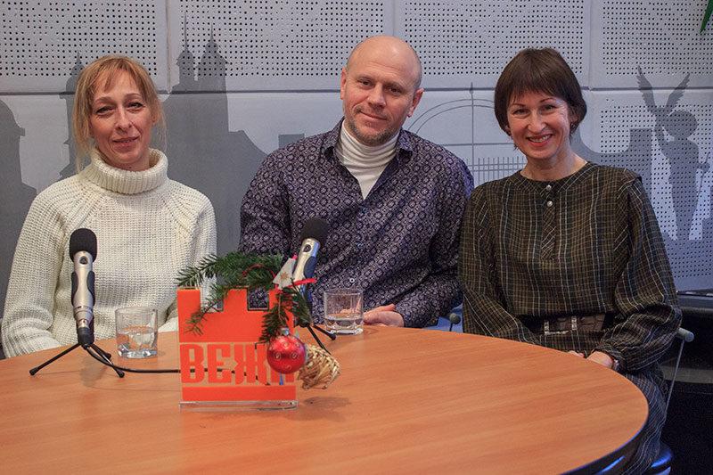 Володимир та Олена Рожнови, директор на представник благодійного фонду «Франко-Опір» (АУДІО+ВІДЕО)