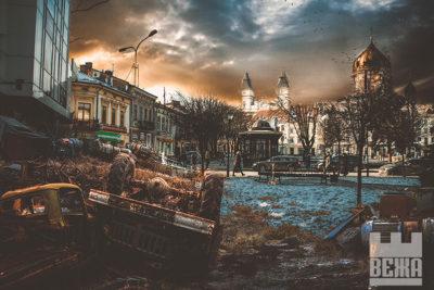Івано-Франківськ після апокаліпсису (ФОТО)