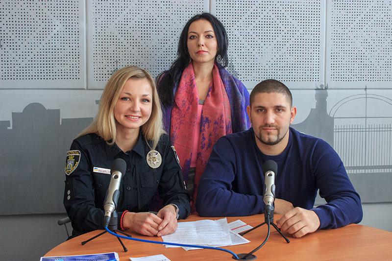 Олександра Бабецька та Антон Боєв, патрульні поліцейські (АУДІО)