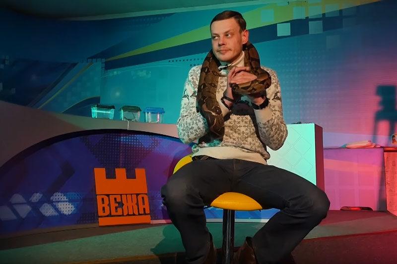 Михайло Королик,  тераріуміст (ВІДЕО)