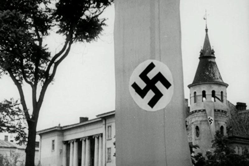 В мережу виклали унікальну кінохроніку 1941 року з окупованого Станиславова (відео)