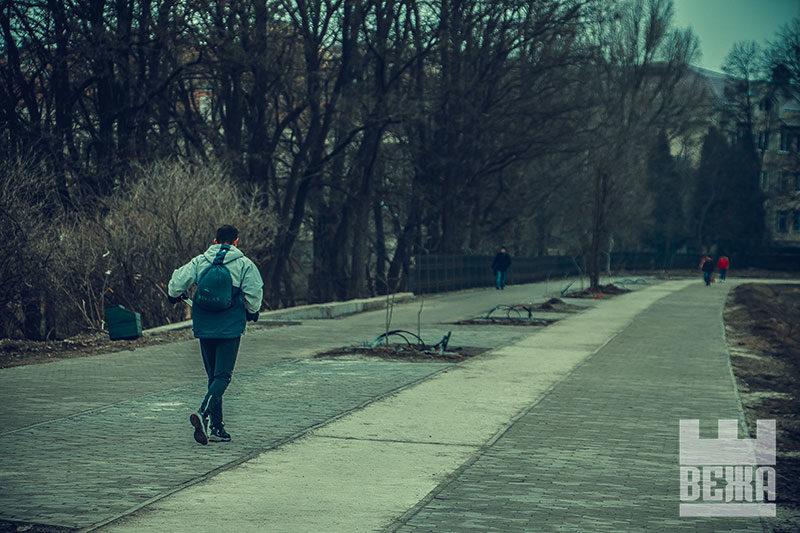 Спортивний Івано-Франківськ зранку (ФОТО)