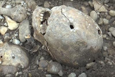 Про розкопки масових поховань жертв комуністичних репресій на вул. Ленкавського (ВІДЕО)