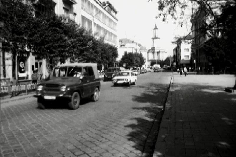 Оцифрований Івано-Франківськ: Вулиця Муравйова (1987) та види міста (1988) (відео)