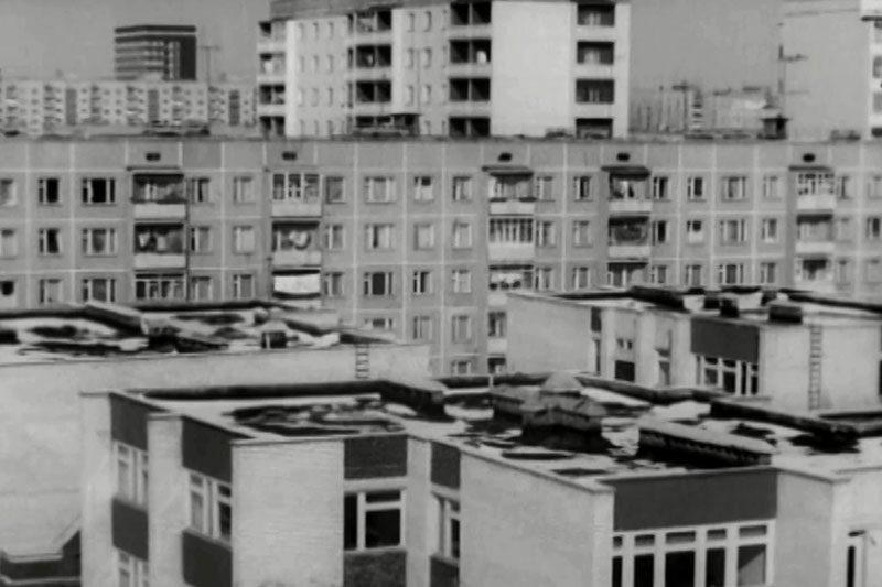 Виїзд першого тролейбуса (1983) та начальник ЖЕУ №1 В. Пустовіт (1986) (ВІДЕО)