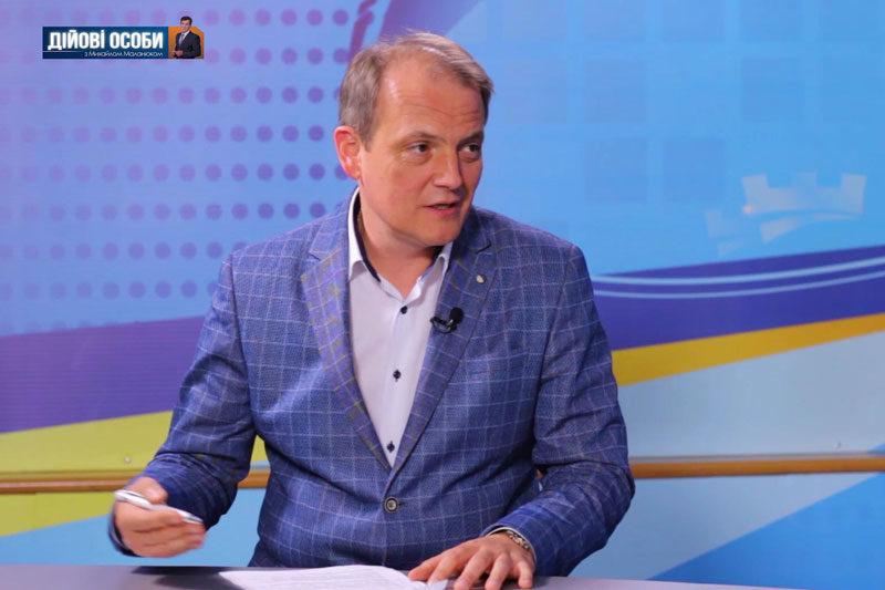 Любомир Слободян, начальник міської ДПІ (ВІДЕО)