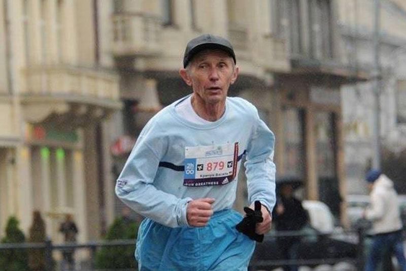 Василь Кричун, 72 літній легкоатлет (АУДІО)
