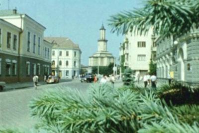 Види міста та виставка меблевої промисловості (1988 р.) (ВІДЕО)