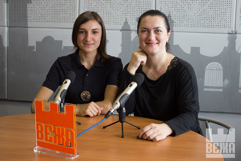 Євгенія Бардяк та Таміла Кульпа. Молодіжні радники поліцейських (АУДІО)