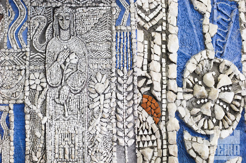 Чим хата багата, тим і рада: мозаїка Опанаса Заливахи (ФОТО)
