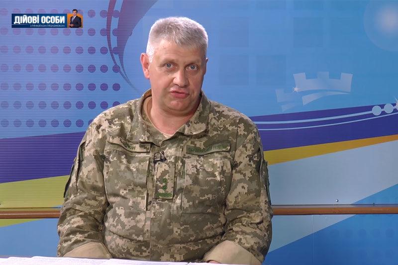 Юрій Мухін, старший офіцер по роботі з особовим складом та громадськістю облвійськкомату (ВІДЕО)