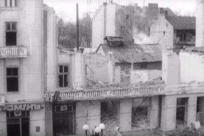 Обвал Театру ляльок (1994),відкриття пам'ятника Франку (1995) (ВІДЕО)
